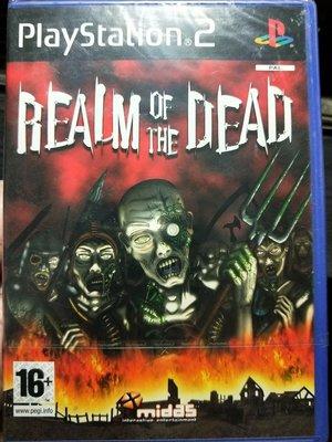 PS2遊戲片全新未拆封REALM OFTHE  DEAD
