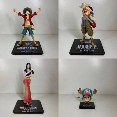 One Piece Figuarts Zero 草帽海賊團 Straw Hat Pirates (Luffy / Robin / Usopp / Chopper