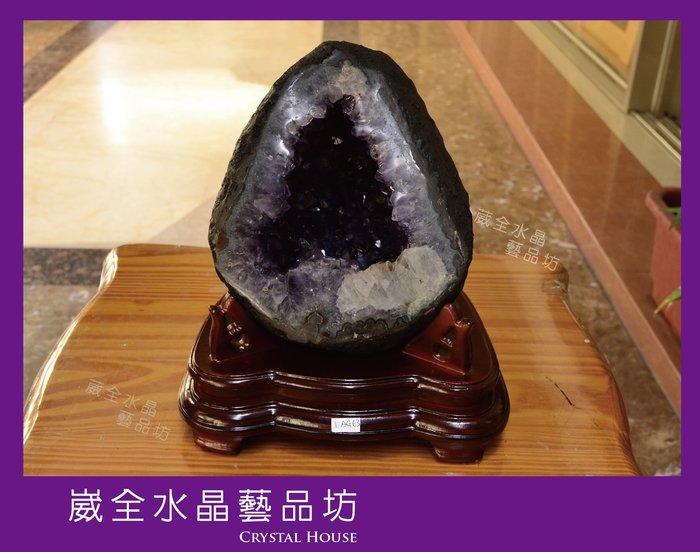 【崴全水晶】3A 頂級 🌟紫爆🌟 天然 烏拉圭 紫晶洞 8.5kg ※ 風水石 鎮宅 招財