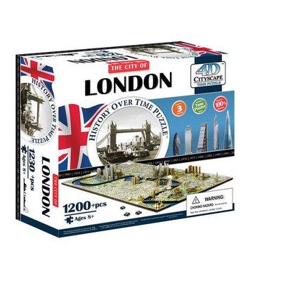 金錢貓雜貨 全新  4D立體拼圖 CITYSCAPE LONDON 英國倫敦