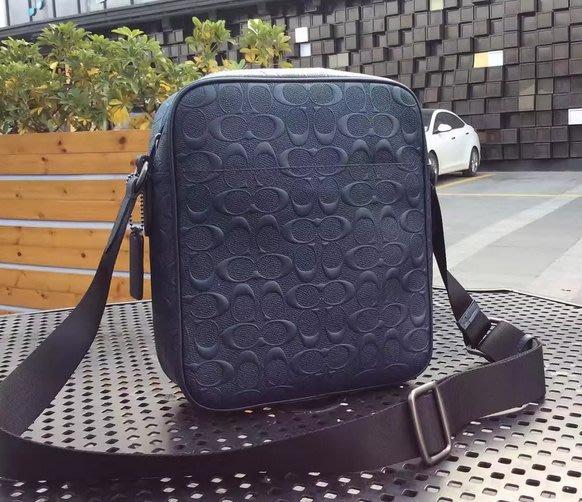 我愛名牌COACH包~美國100%正品【清倉低價出售購買兩件免運】72277公事包 商務包 單肩包 新款皮革斜挎包男包