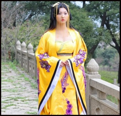 ~~Miss Goddess~~珂珂卡蝶唐朝古裝服裝貴妃皇后公主古代拖尾武媚娘傳奇漢服服裝同款