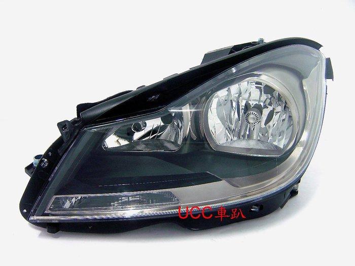 【UCC車趴】BENZ 賓士 W204 11  12 13 14 C250 原廠型 黑框大燈 TYC製 一顆3400