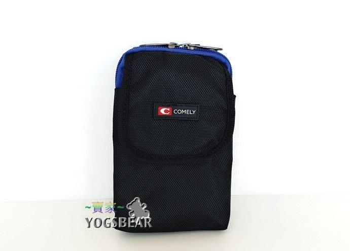 【YOGSBEAR】C 6吋手機袋 直立式 三用包 手機袋 斜背包 腰包 側背包 工具包 90671 藍色