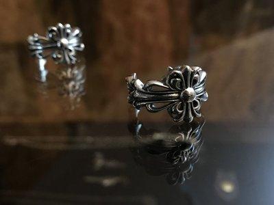 造夢師 手工訂製【Chrome Hearts】【復刻】克羅心 Floral cross經典十字架 925純銀 戒指