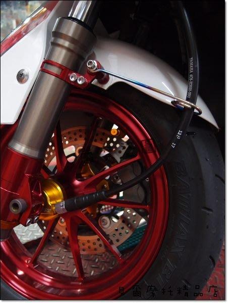 【貝爾摩托車精品店】惡搞手工廠 DOGHOUSE 鈦合金碼表支架 長版 另有短版