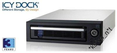 {MPower} 台灣名廠 ICY Dock MB876SK-B 專業級 3.5 SATA HDD Mobile Rack 硬碟抽取盒 內置風扇 - 原裝行貨