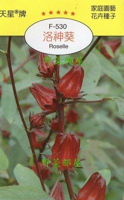 【野菜部屋~】Y05 洛神葵(洛神花)Roselle~天星牌原包裝種子~每包15元~