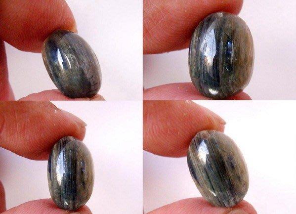 小風鈴~超人氣天然高檔帶貓眼藍晶石墜(半寶石)~低價起標!淨重:3.4g