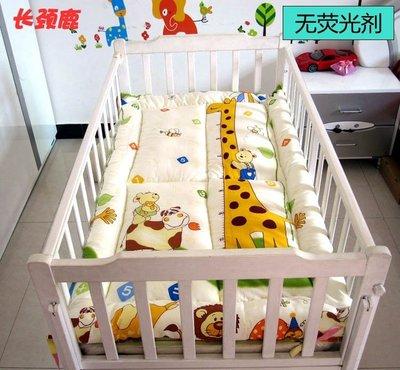 【雙十二狂歡 勁享全館8.5折 免運】定做幼兒園墊被嬰兒床墊床墊純棉褥子嬰兒床墊子寶寶卡通墊被夏墊--藍品優品