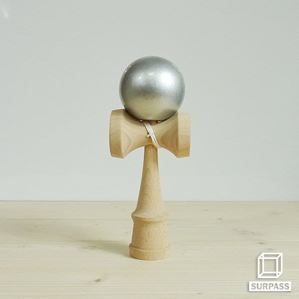 『Surpass』木質劍玉劍球 Metal 金屬系列 鋼鐵銀
