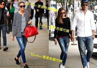 部分現貨♥ Mother ♥ 美國代購Olivia Palermo ag穿AG雙膝 牛仔褲