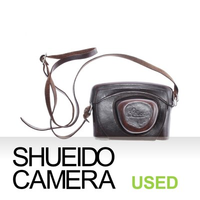 集英堂写真機【1個月保固】中古實用品 / LEICA 徠卡 LEITZ 原廠 相機皮套 M3 用 12503