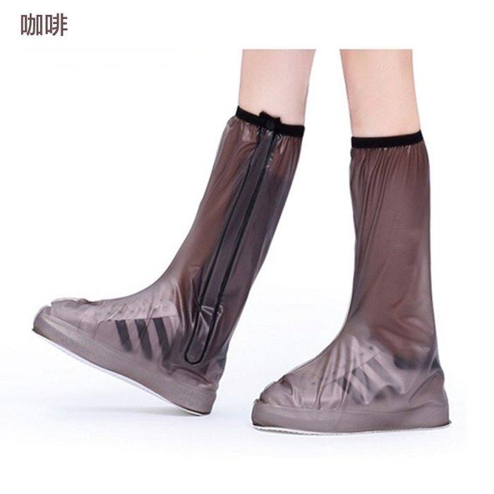 高筒雨鞋套 防水加厚機車雨鞋套 長筒防雨鞋套 耐磨 止滑 重複使用 男款 女款  雨鞋套