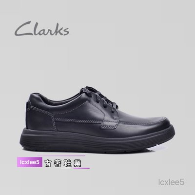 clarks克拉克男鞋男士低幫休閒時尚皮鞋Un Abode Strap舒適運動男鞋39-44