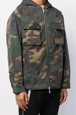 『COG』 m1750 2件8折 超帥 紐約街頭型男 FOG KAYNE 小賈風格 水洗做舊迷彩聯帽外套夾克 圓弧下擺