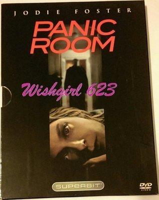 大衛芬奇作品 -『Panic Room 顫慄空間』電影DVD~茱蒂·佛斯特(安娜與國王)、克莉絲汀·史都華 (暮光之城)