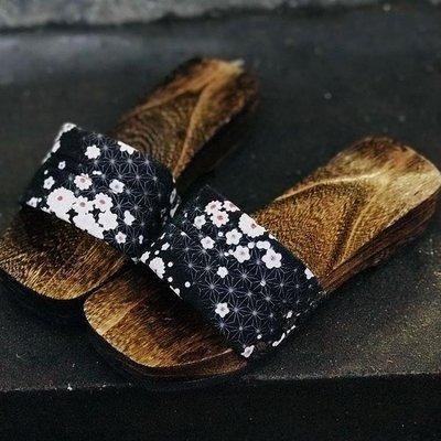 珍凡妮女款女式分左右包頭一字木屐拖鞋
