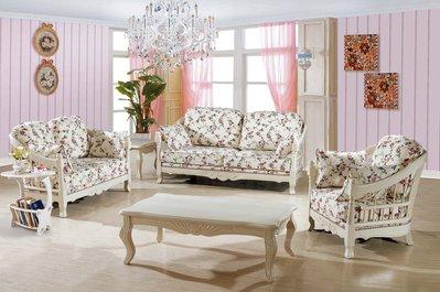 【大熊傢俱】A06 玫瑰系列 歐式  皮沙發 布沙發 絨布沙發歐式沙發 休閒沙發 多件沙發組 美式皮沙發