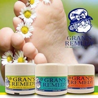*╮e'Best 二館╭* 紐西蘭 Gran's Remedy 100%天然草本 除腳臭鞋臭粉 原味/香味/薄荷 50g