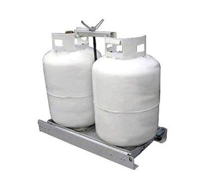 DJD19042358 露營車用配件 瓦斯桶滑軌托架 國外預定進口品 依當月報價為主