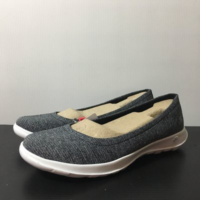 [麥修斯]SKECHERS GO WALK LITE 灰 女款2 休閒鞋 15392BKW