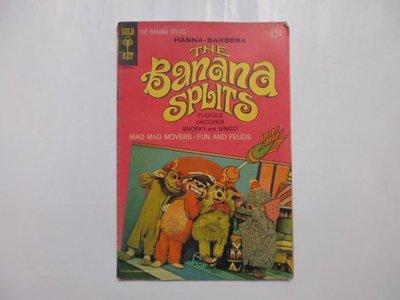 ///李仔糖舊書*1969年美國原版彩色漫畫.THE BANANA SPLITS(k506)