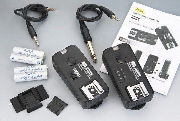 呈現攝影-品色 ROOK F-508 n 無線閃燈觸發器2.4G NIKON用 可雙閃 分組 喚醒 快門 iTTL 離機閃 有NCC