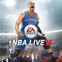 NBA Live 16(X1 美版代購)