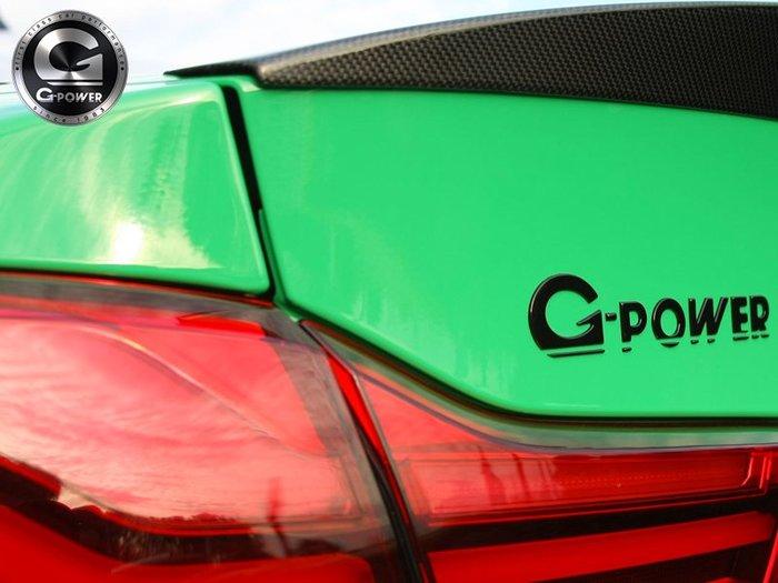 【樂駒】 G-POWER BMW F87 M2 COMPETITION KOFFERRAUMSCHRIFTZUG 字標
