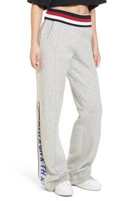 代購 Tommy Jeans x Gigi Hadid Zip Track Pants 灰色