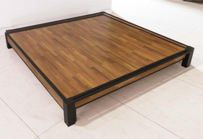 【DH】貨號E503-3商品名稱《勝優》工業風木心板6尺床檯(圖一) 備有5尺可選.台灣製可訂做.主要地區免運費