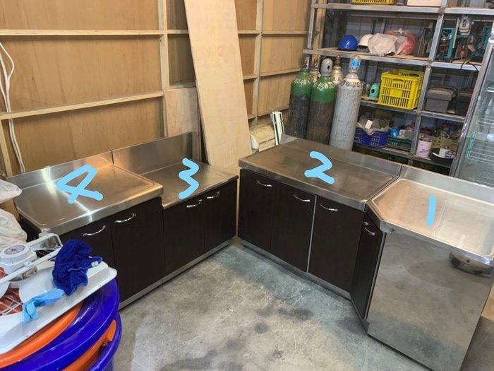 9成新家庭廚房流理台(4件組,不拆賣)