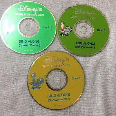 【彩虹小館6】SING ALONG(spoken version) 2.3.4寰宇迪士尼美語DISNEYS_單片300元