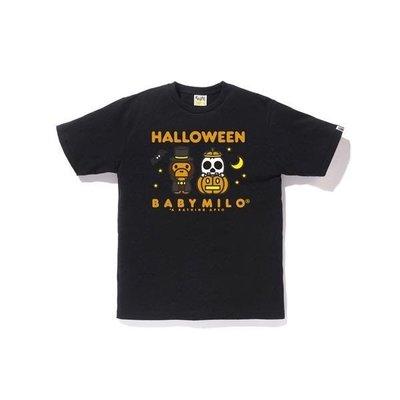 A bathing ape bape Halloween baby milo tee 黑色 萬聖節限定 短t