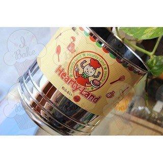 *愛焙烘焙*日製ST手搖麵粉篩 L-0407(特大)/個 不鏽鋼 不銹鋼 hearty land 粉篩杯