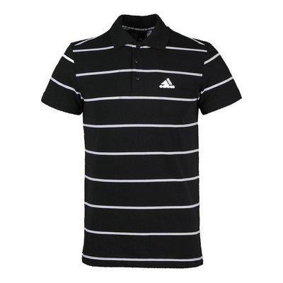 車車代購 潮款Adidas愛迪達男子M POLO YARN DYEPOLO短T恤FT2836
