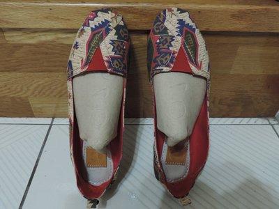 女鞋專櫃品牌 FULL CREATOR  女包鞋 布面鞋 休閒鞋 平底鞋 尺寸:約36 或 約23.5