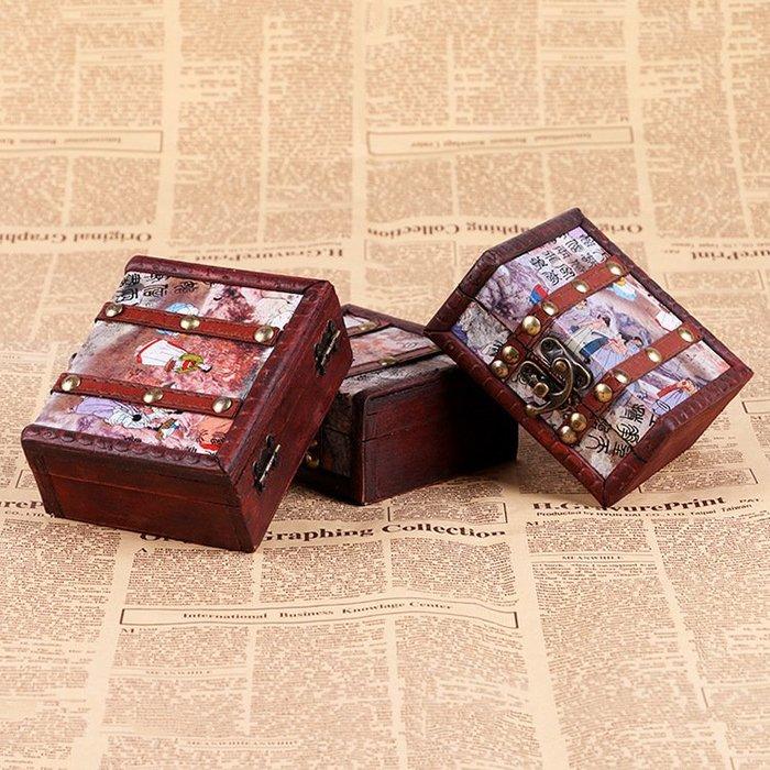 DREAM-裝紋身機小盒子 仿古木質經典紋身機盒子 紋身器材 紋身機皮盒