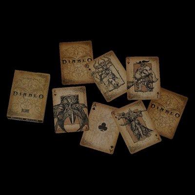 【丹】暴雪商城_Diablo Playing Cards 暗黑破壞神 撲克牌 卡牌