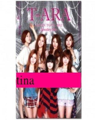 Dream high』恩靜日本版T-ARA JAPAN TOUR 2012-Jewelry box豪華寫真集孝敏智妍素妍
