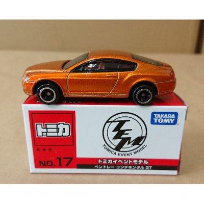 【現貨】Tomica 多美 日版 會場車 No.17 賓利