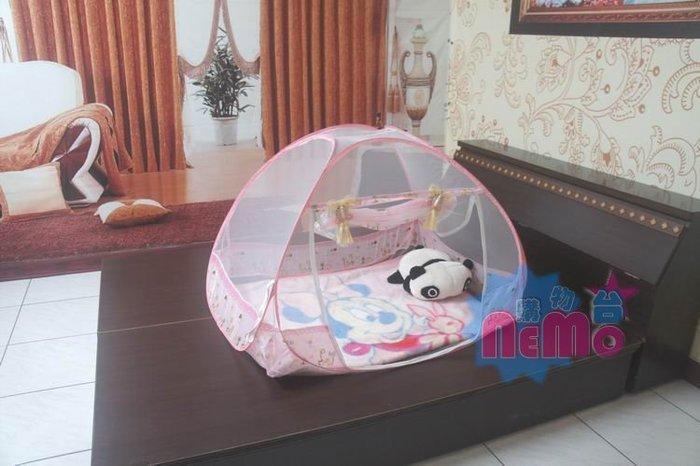 【nemo生活家飾館】兒童蒙古包蚊帳/粉紅色