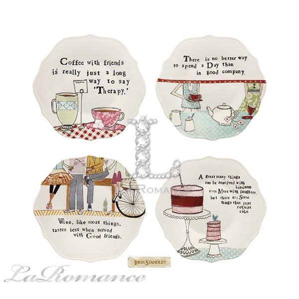 【Creative Home】Heart & Home 心戀家居系列美麗人生荷葉邊陶瓷點心盤 / 置物盤 (共四款)