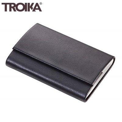 又敗家@德國TROIKA防盜信用卡夾CCC05防感應錢包防盜刷電子錢包防RFID夾防NFC夾防側錄夾多功能卡夾盒名片夾匣