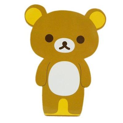 ♥Alice Family♥San-X授權商品,Rilakkuma懶懶熊拉拉熊/懶熊妹全身造型便條紙/便簽-共2款♥