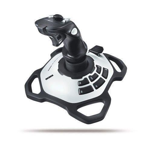 【鳥鵬電腦】Logitech 羅技 EXTREME 3D PRO JOYSTICK 閃靈鈦翼 遊戲搖桿 模擬飛行專用 自訂按鈕