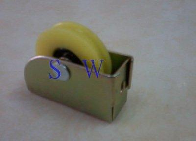 RE-02-1鋁窗輪 712型機械承軸培林輪 玻璃窗輪 機械輪 紗窗輪 紗門輪 鋁門輪 鋁門滾輪 戶車 氣密窗輪 塑膠輪
