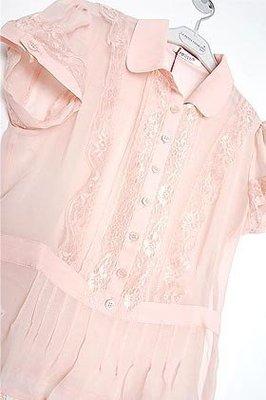 relish淡淡粉紅色蕾絲宮廷silk紗上衣 ~ 不議價2600含郵(ZARA  H&M  韓KOREA)