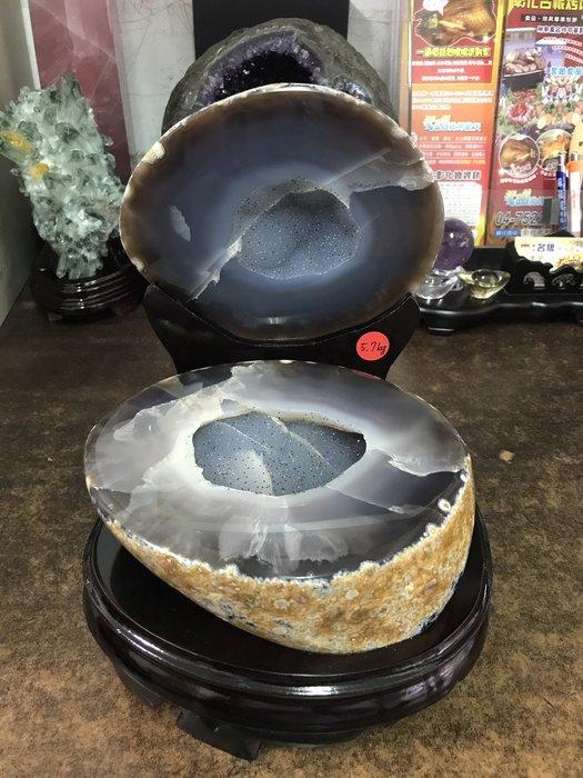 瑪瑙聚寶盆 5.7kg 瑪瑙聚寶盆晶洞 (現貨)